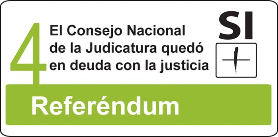 1.El Consejo Nacional de la Judicatura quedó en deuda con la justicia
